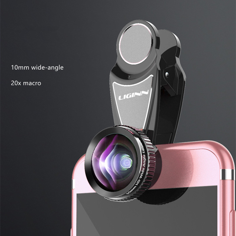 LIGINN Optical Zoom 2X Telephoto Lens Mobile Phone Camera Telescope lens For iPhone 6 7 8 Samsung Note8 S8 S9 Xiaomi hua wei
