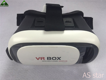 Original Google Cardboard VR BOX II 2.0 VR Virtual Reality 3D Glasses For 4″-6″ Smartphone + White Bluetooth Controller