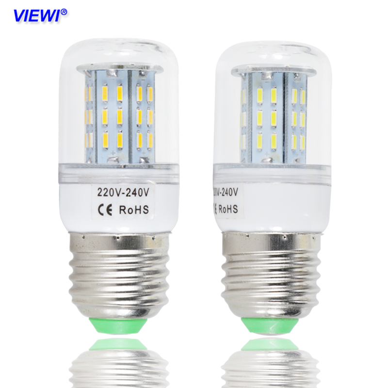 1piece Ampoules Led Bulb Light E 14 E27 Dimmer Lights 110v 220v 4W Dimmable Super Warm White Chandelier Candle Spotlight Lamp