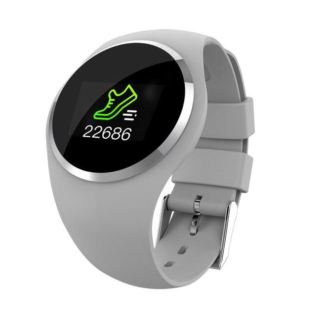1.0 بوصة TFT LCD شاشة Q1 ساعة ذكية معصمه ضغط الدم مراقب معدل ضربات القلب جهاز تعقب للياقة البدنية الرجال النساء سوار ذكي