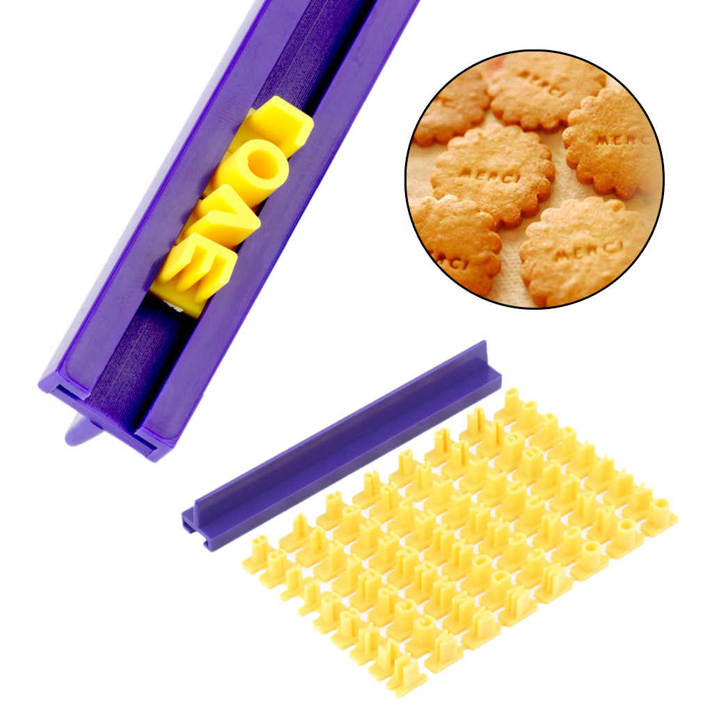 For Cakes/Sugar paste Alphabet Letter Cookies Cutter Words Baking Mold Cake Frill Cutter Embossing Mould  for Cakes Sugar paste
