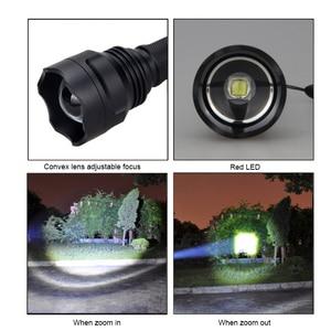 Image 5 - VASTFIRE C8 1 モードズーム可能な LED 狩猟懐中電灯白色光戦術的な 18650 懐中電灯屋外ハンティング用