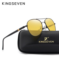 KINGSEVEN Brand Night Vision Polarized Sunglasses Men Driving Sun Glasses For Women Good Quality Goggle Glasses