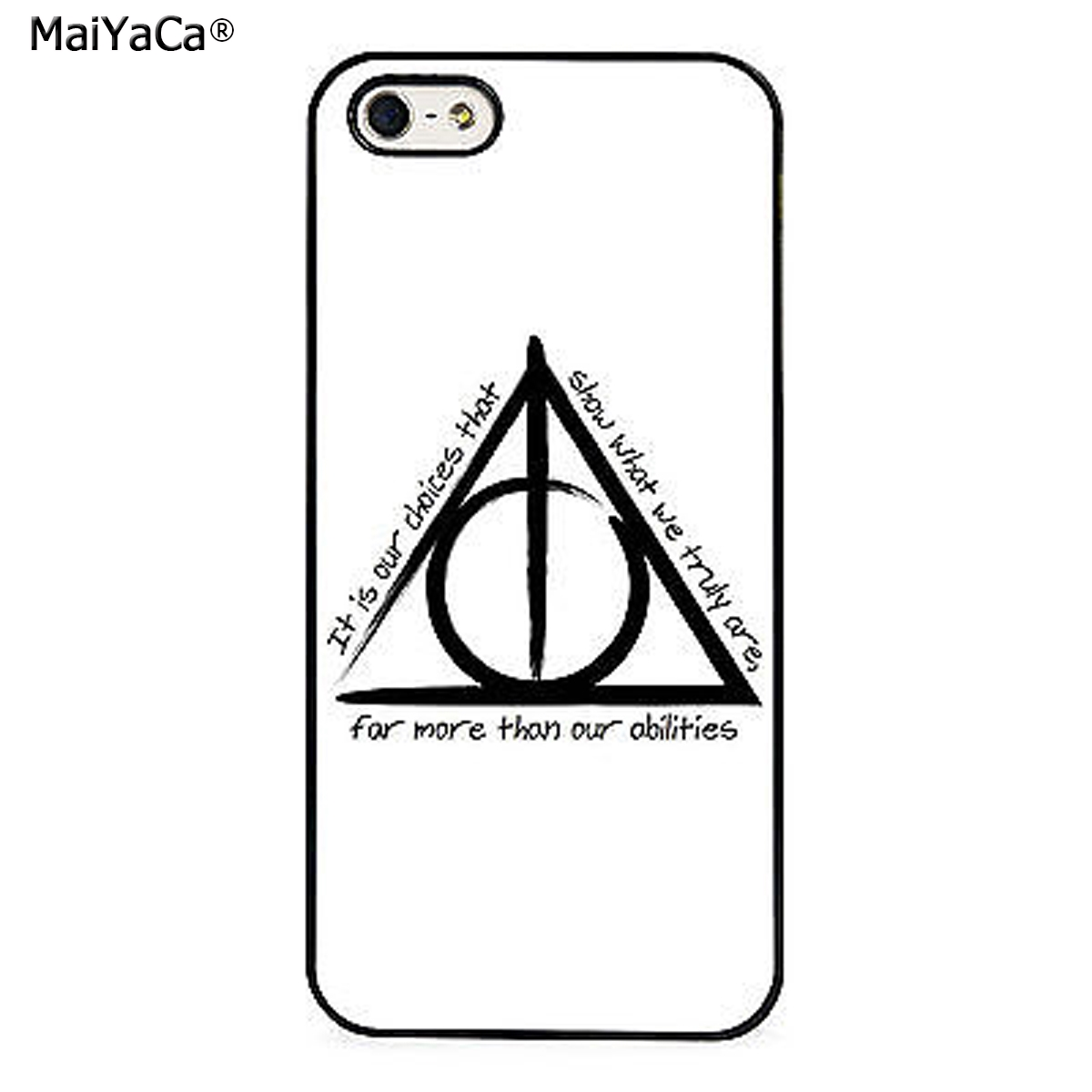Maiyaca Harry Potterly Hallows Quote Phone Case