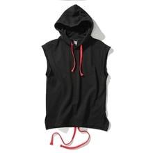 2018 new design Summer Cotton tank top vest oversize street wear men hip hop undershirt sleeveless shirt vest fashion