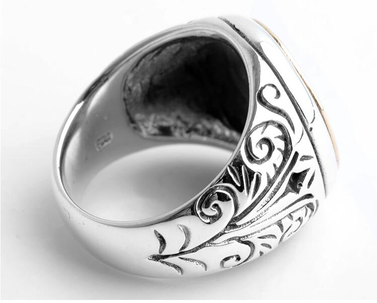 Quiptaction 2018 Fashionable swallow figure shape fashionable ring made of steel metal Beauty and jewelry Men and women trendy