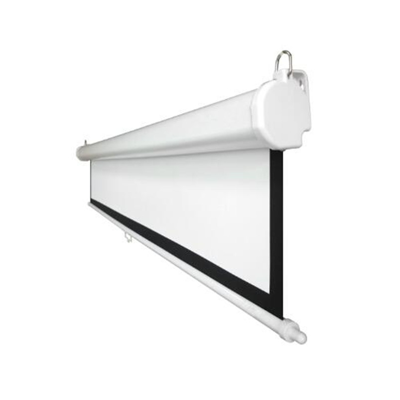 136 1:1 Pull Down projection manual projector screen for office presentation equpipment with slow return control/Matte grey136 1:1 Pull Down projection manual projector screen for office presentation equpipment with slow return control/Matte grey