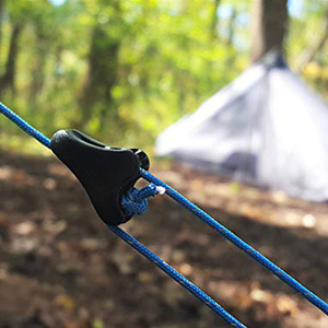 Image 4 - 10pcs Guida di Guy Cavo della Linea Tightner Runner Tenda Da Campeggio Tenda Corda Regolatore per Esterni Casa Auto Campo Tende Zaini