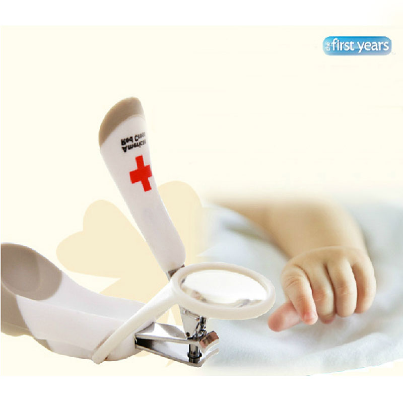 Baby Magnifying glass Nail Care Practical Clipper Trimmer Convenient Daily Baby Nail Care Set