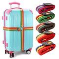 1pcs Minorder Rainbow Travel Cross Luggage Suitcase Strap Luggage suitcase Safe Belt Strap 4m baggage Belt Band Belt Name Tag