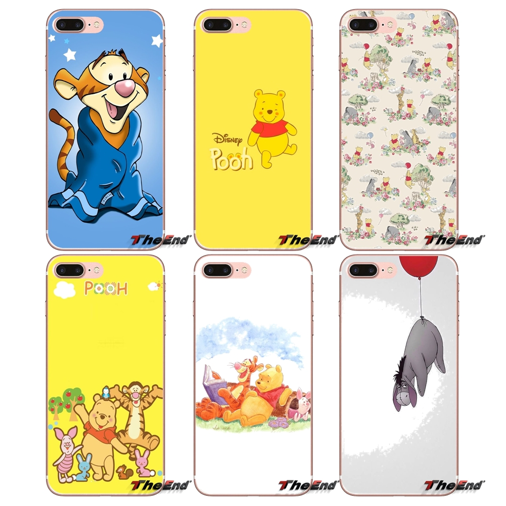 Phone Case Winnie the pooh Tigger and Eore For iPhone X 4