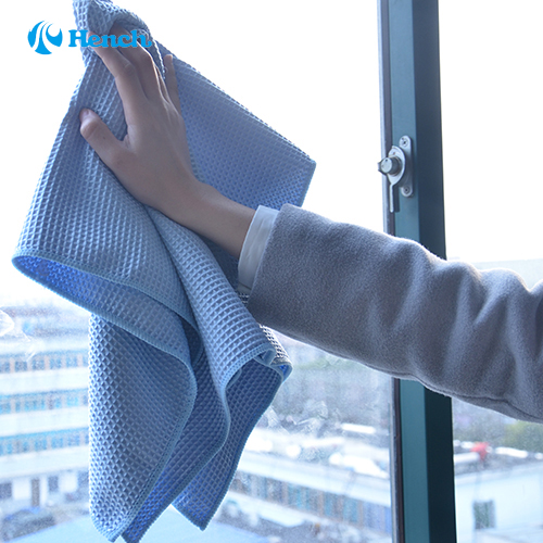 Car cleaning waffle style microfiber cloth towel cleaning - Best cloth for cleaning windows ...