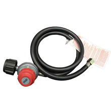 цена Earth Star Gas fireplace Heater replacement parts 0-30PSI  Adjustable Propane Regulator With Hose 4Ft