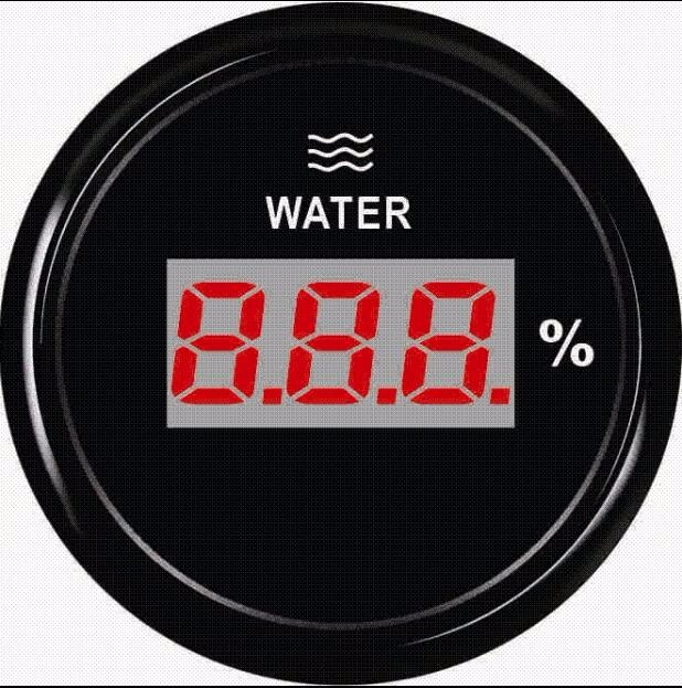 1pc 100% brand new 52mm digital water level gauges 0-100% lcd water level meters 9-32v with backlight for car truck boat tunica brand 100 page 9
