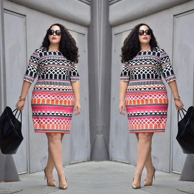 UK Women Lady Bodycon Dresses Plus Size Ladies Clothing Party Dress Big  Size 10-22 3e8bf0c6475f