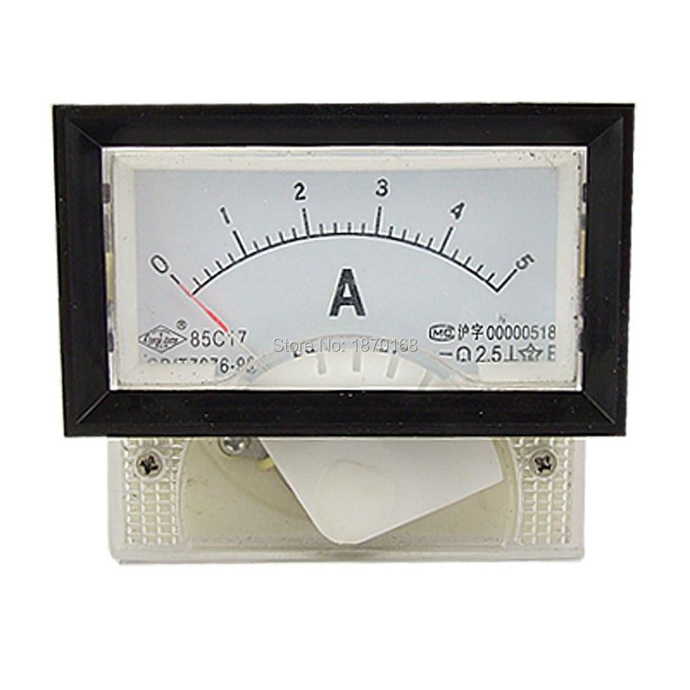 85C17 DC 0-5A mutató analóg panelmérő - Mérőműszerek - Fénykép 1