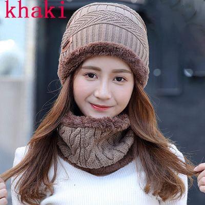 fac39c24a45d1 ... BINGYUANHAOXUAN 2017 Men Warm Hats Cap Scarf Winter Wool Hat Knitting  for Men Caps Lady Beanie ...