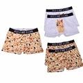Sexy algodón hombre divertido dogo corgi 3d bulge trunk shorts boxer underwear bajo bragas pantalones bragas respirables cómodos