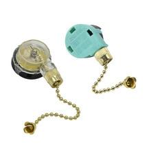 Переключатель потолочного вентилятора 3 скорости и ноль хорошего качества Тяговый цепной переключатель потолочный вентилятор света регулировка скорости выключатель с цепочкой 1 шт