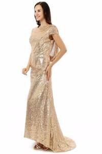 2018 Elegant Bridesmaid Dresses Long Wedding Party Gown d640127884aa