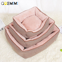 Comfortable Soft Dog Cat Bed Warm Sofa House for Pet thick Cotton Good Products Puppy Supplies