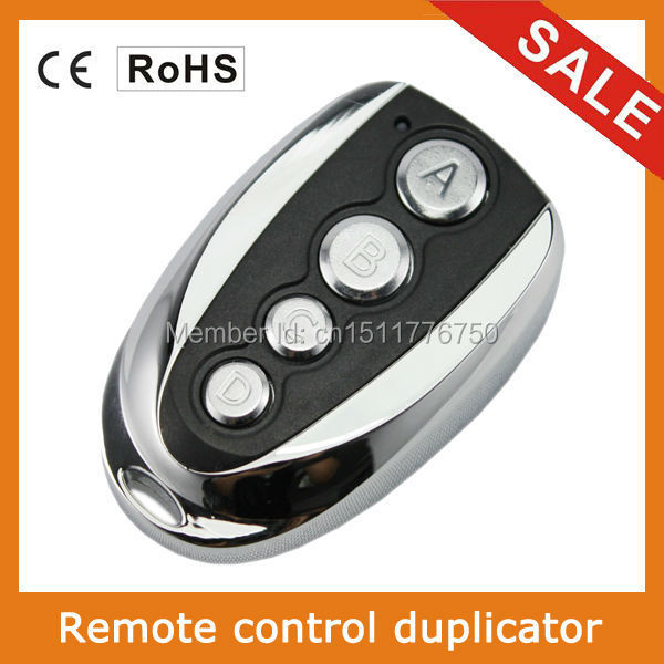 Rf 433mhz Clone Duplicate Garage Door Remote Control 4 Channels