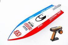 53″ Monohull 30CC DT135 Fiber Glass Gas RC Racing Boat 2.4G Radio Controled RC Boats ARTR