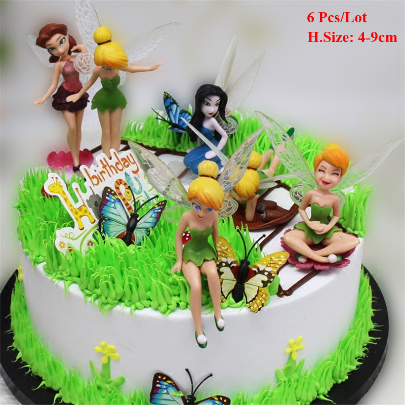 Fabulous Flying Fairy Topper Doll Cake Toys For Girls Baby Ts For Guests Personalised Birthday Cards Sponlily Jamesorg