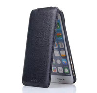 For IPhone 6 Plus 6s Plus Genuine Leather Case Magnetic Vertical Flip Up And Down Card