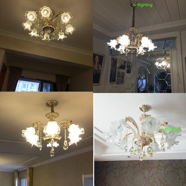 Online Shop Moderno Lampadari Di Cristallo di Illuminazione LED ...