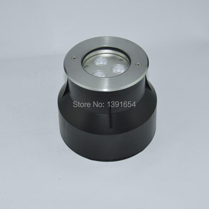 Single Color 4pcs/lot 24V 316 Stainless steel IP68 9W LED Swimming Pool Light White Underwater Light