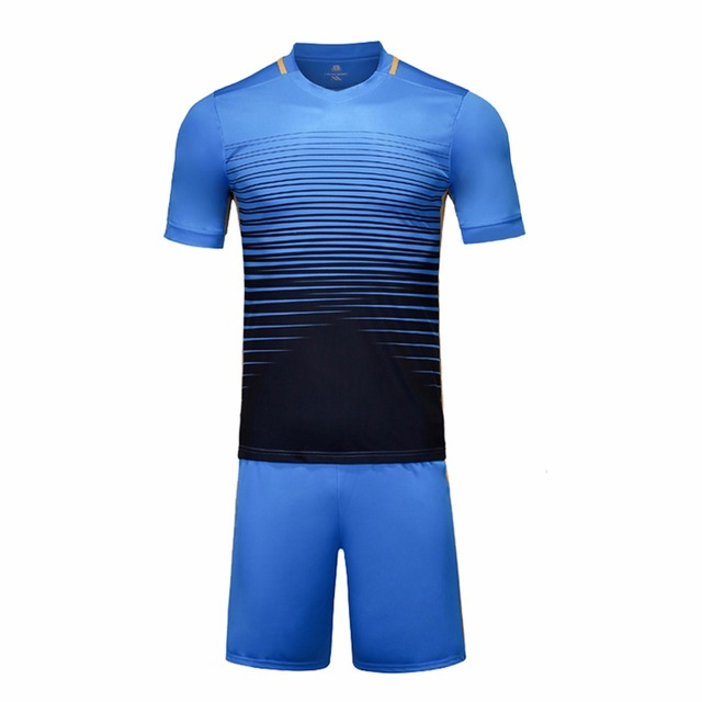 cdb2a33978a Football jerseys 6 colors new training soccer kits sports wear paintless  football soccer jerseys youth custom