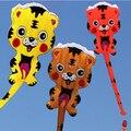 Envío Gratis Outdoor Fun Sports NUEVA Tela de Nylon Poder Cartón Tigre Software Kite Flying Buena