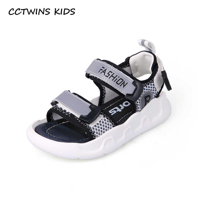 CCTWINS Kids Shoes 2019 Summer Girls Fashion Sandals Boys Luminous Children Beach Flats Baby Soft Barefoot White Shoes BS256CCTWINS Kids Shoes 2019 Summer Girls Fashion Sandals Boys Luminous Children Beach Flats Baby Soft Barefoot White Shoes BS256