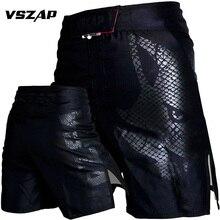 VSZAP технические шорты для спортивных тренировок и соревнований MMA шорты Тигр Муай Тай боксерские трусы MMA Короткие
