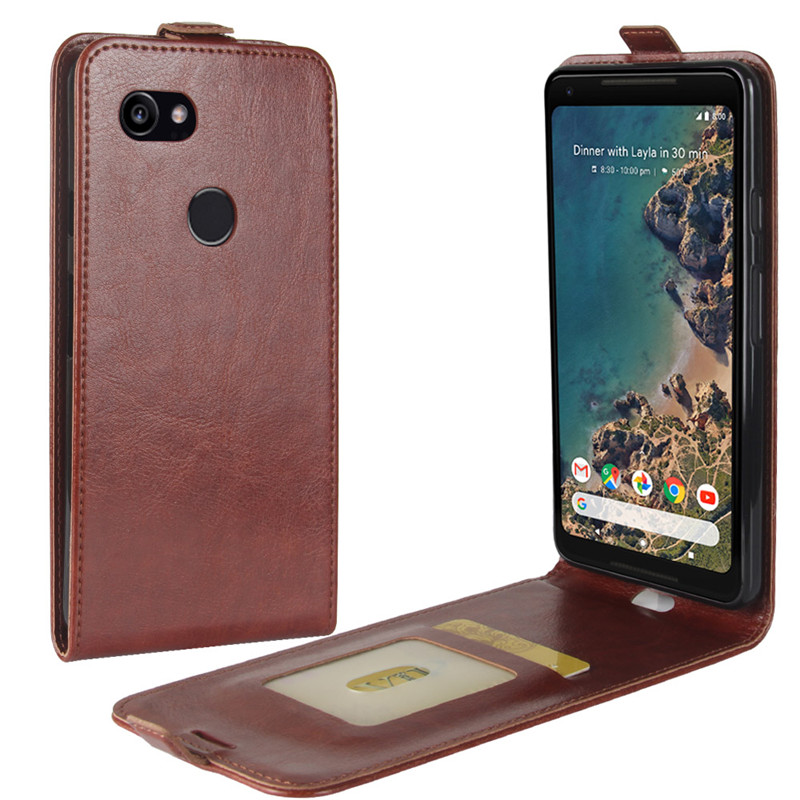 Case For Google Pixel 2 XL Case Leather Flip Case Silicone Back Cover For Google Pixel 2 XL Cover Full Protective Phone Cases