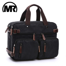 Купить с кэшбэком Original Z.L.D Canvas Leather Men Travel Bags Hand Luggage Bags Men Duffel Bags Travel Tote Hide the shoulder strap