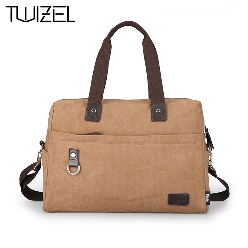 ФОТО TWIZEL 2016 New Design Canvas Bag Crossbody Vintage Pack Messenger Bag For Men Handbag Shoulder Bag High Quality HQB1887