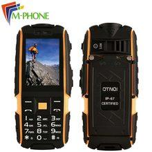 Оригинальный dtno. Я A9 мобильные телефоны IP67 Водонепроницаемый противоударный 4800 мАч аккумулятор телефона dual sim карты сотовые телефоны fm-фонарик камеры