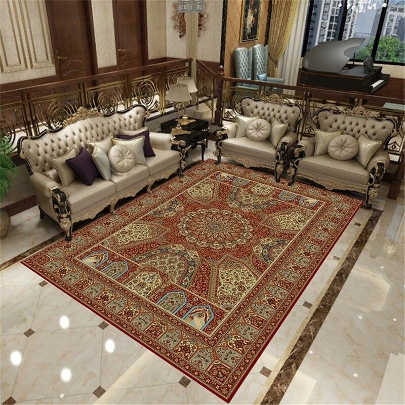 Iranien persan tapis salon canapé tapis décor à la maison chambre tapis classique personnalisé tapis de sol Table basse tapis et tapis - 2