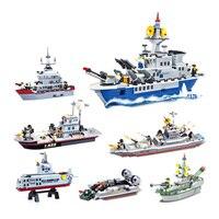 Sea Battleship Plastic Model Diy Spell Insert Toys Children Education Gift Toy Ship Model Kit