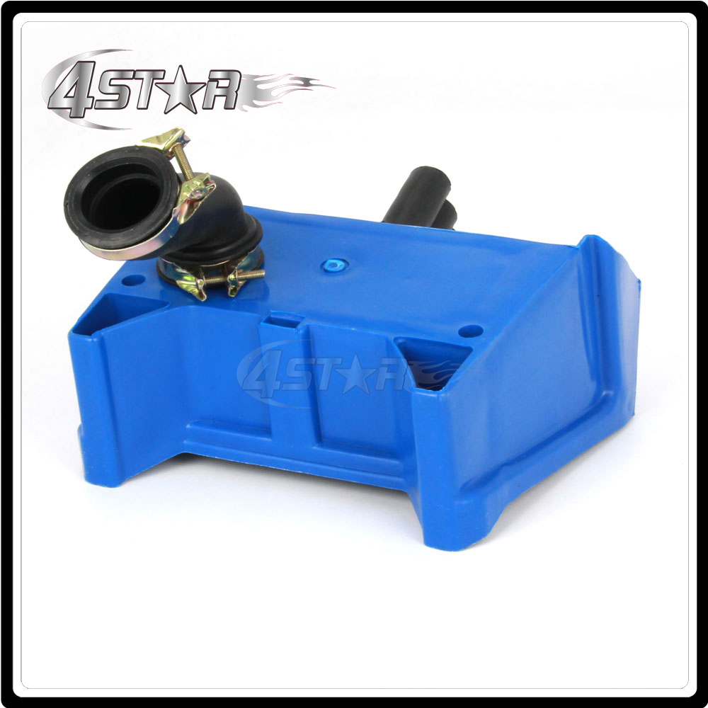 For Yamaha PW80 PY80 PEEWEE 80 Air Filter Box Foam Assembly Blue