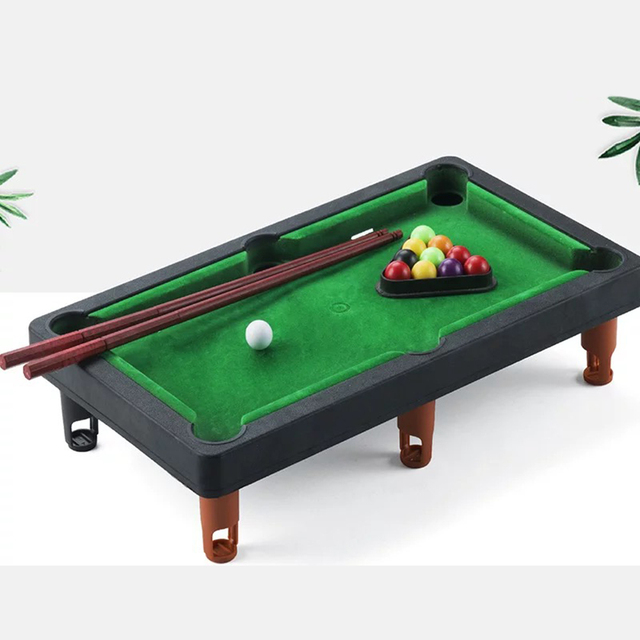 Board Games for Children Mini Billiards Snooker Toy Set Home Party Games Kids Boys Parent Child Interaction Game Education Toys 1