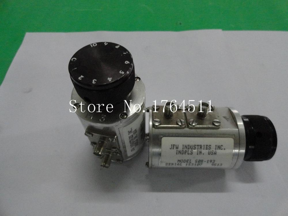[BELLA] Hand Adjustable Step Attenuator JFW 50R-193 DC-2GHz 10dB SMA
