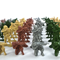 100 soldiers suit, 4 color optional, finished product figures are military toys,plastic toy army soldiers