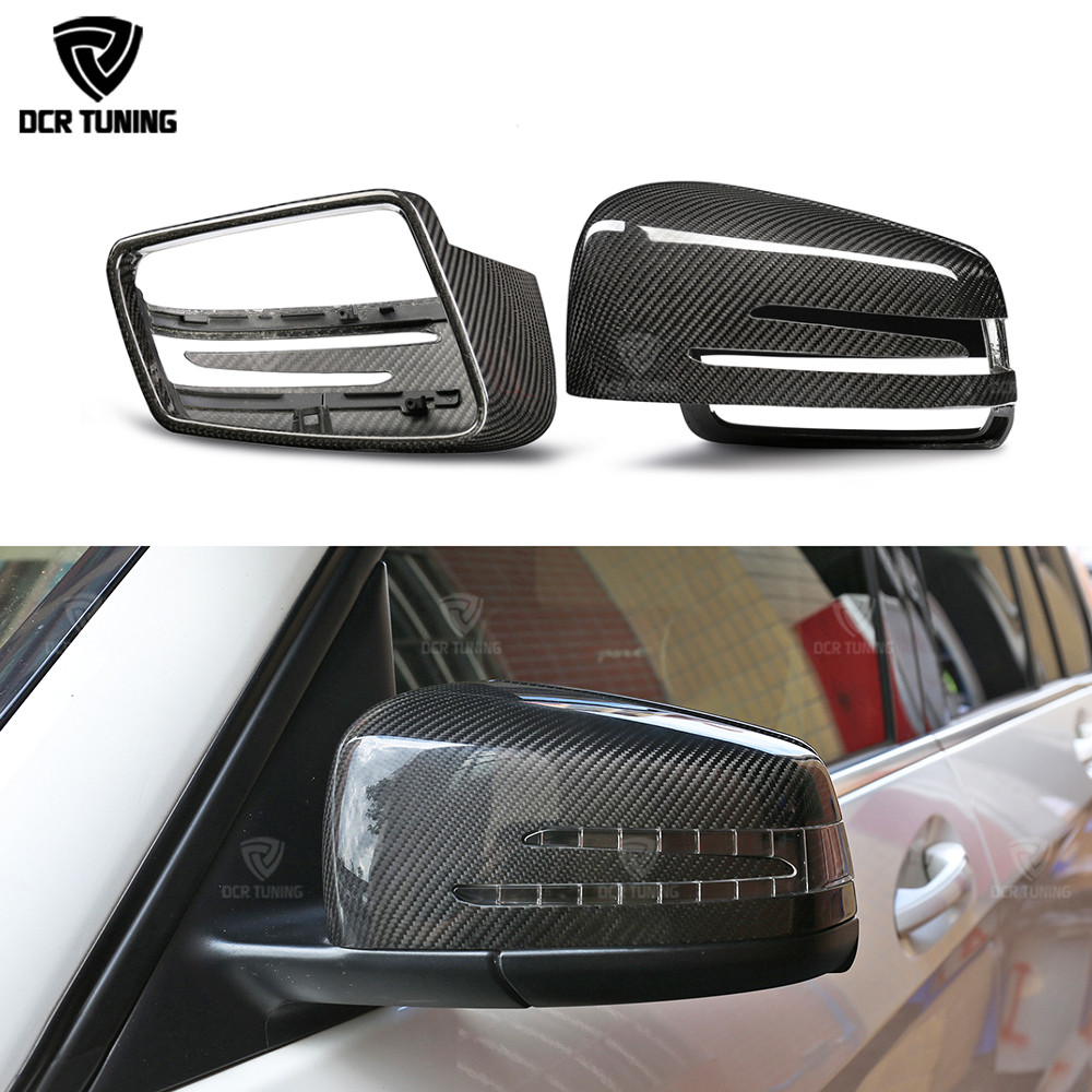 For Mercedes Mirror W204 W212 W207 W176 W218 dry Carbon Mirror cover for Mercedes A B C E S CLS GLK CLS Class dry carbon caps цены