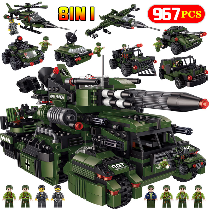 New God Of Wars Assault Chariot Bricks Compatible legoINGLY Military City Helicopter Weapon Building Blocks Educational Kid Toys