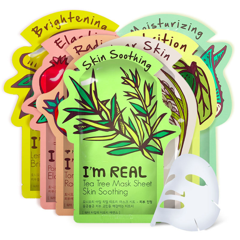 I'm REAL Tony mony Face Mask Moisturizing Facial Mask Oil Control Whitening