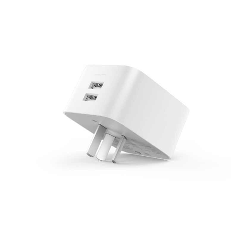 Xiaomi mi jia умная розетка улучшенная версия с двойным USB BC1.2 портом таймер отсчет WiFi приложение беспроводной пульт дистанционного управления