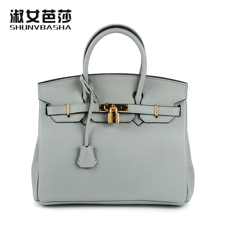 2017 Brand Design New Genuine Leather Bag Women's Messenger BagsTote Handbags Women Famous Brands High Quality Lady Shoulder Bag